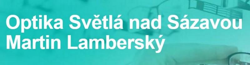 0b26a6a0d Martin Lamberský - oční optika, měření zraku, optometrie, brýle Světlá nad  Sázavou, Ledeč nad Sázavou IČ: 14534312 | Havlíčkův Brod, Kraj Vysočina