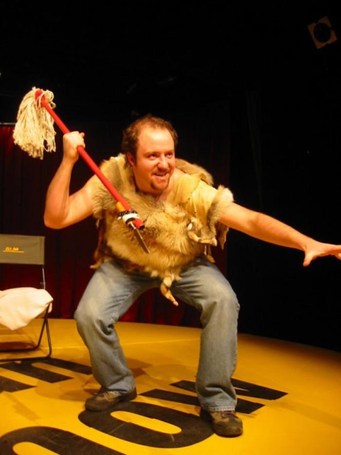 Caveman One Man Show : Rob becker caveman beroun