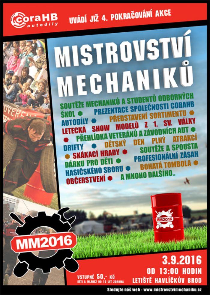 03.09.2016 - Mistrovství mechaniků - Havlíčkův Brod