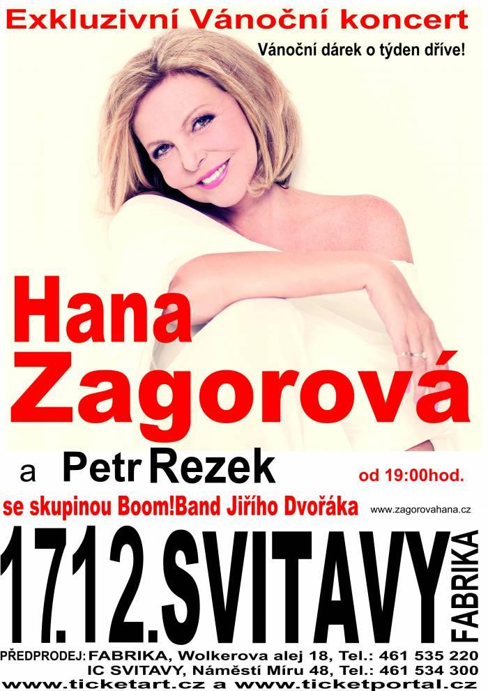 17.12.2013 - Hana Zagorová & Petr Rezek se skupinou Boom!Band Jiřího Dvořáka