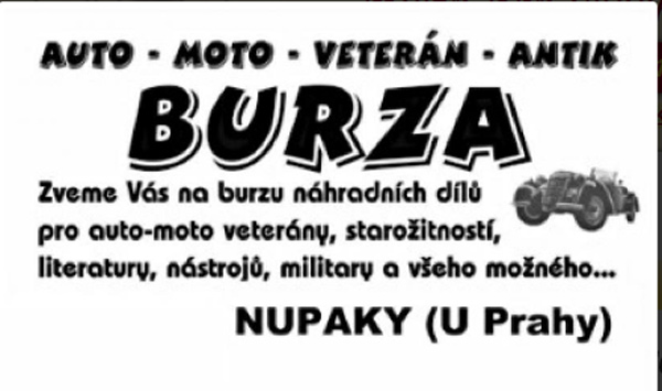 14.10.2017 - Auto, moto, veterán burza 2017 - Nupaky u Prahy