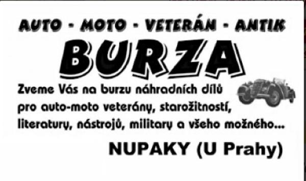 02.12.2017 - Auto, moto, veterán burza 2017 - Nupaky u Prahy