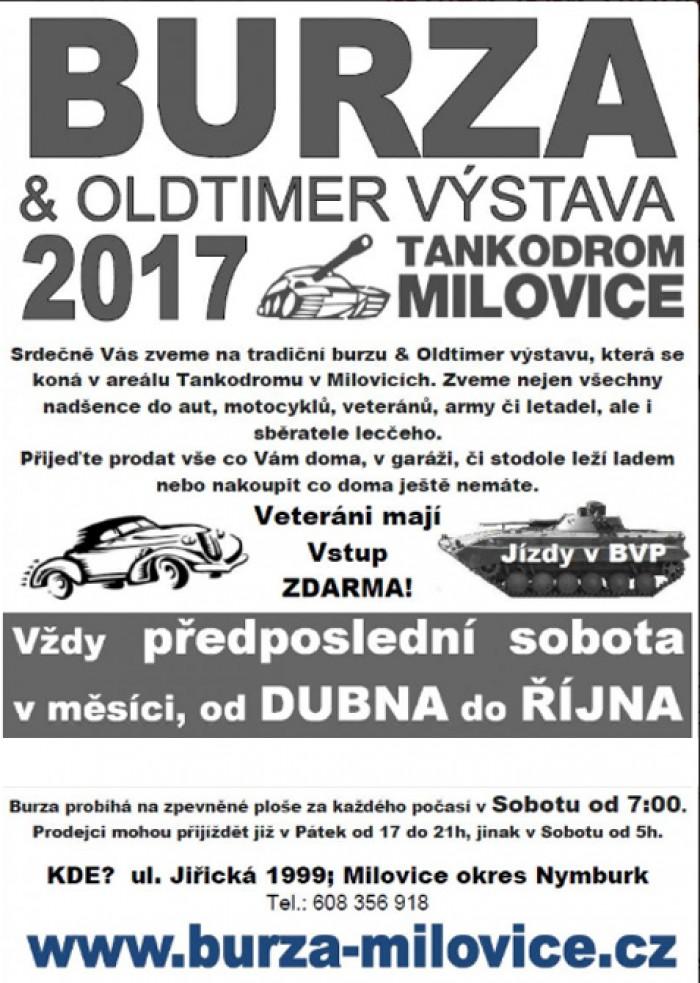 21.10.2017 - Burza a Oldtimer výstava tankodrom - Milovice