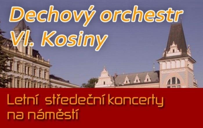02.08.2017 - Letní středeční koncerty - DECH. ORCHESTR VL. KOSINY / Přelouč