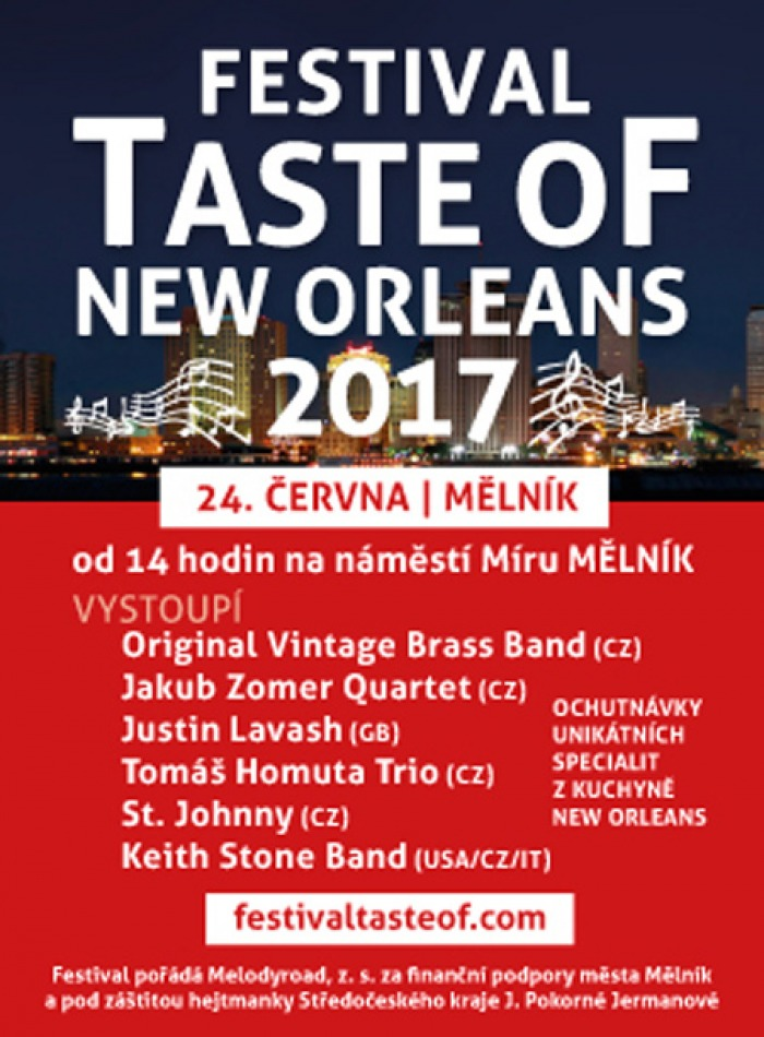 24.06.2017 - Festival Taste Of New Orleans - Mělník