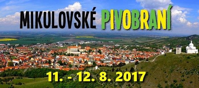 11.08.2017 - Mikulovské pivobraní 2017