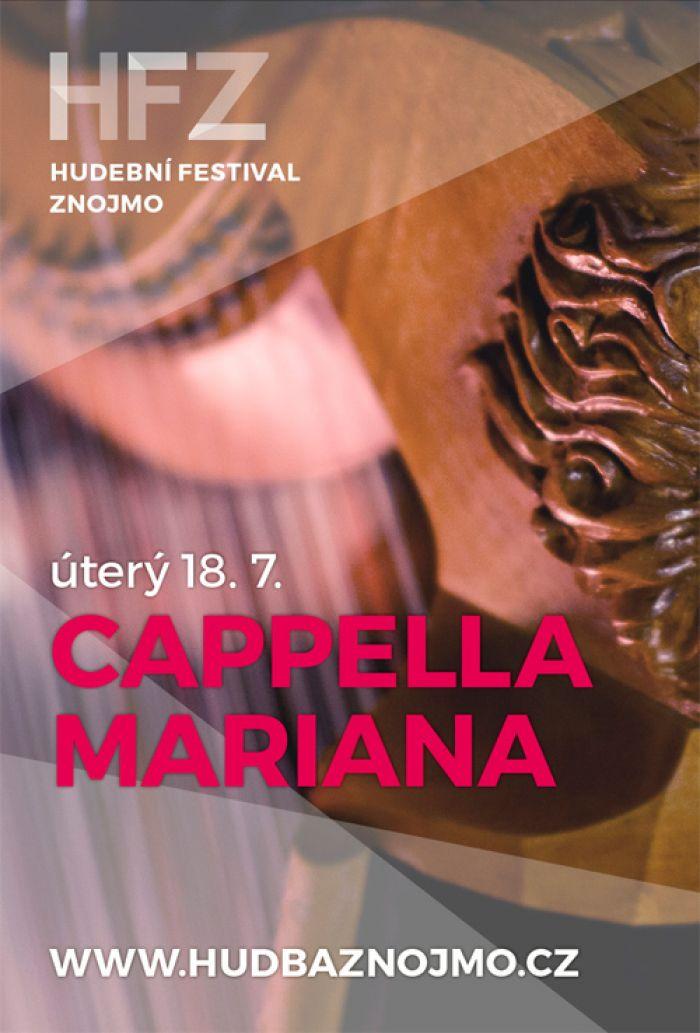 18.07.2017 - HUDEBNÍ FESTIVAL ZNOJMO - Cappella Mariana