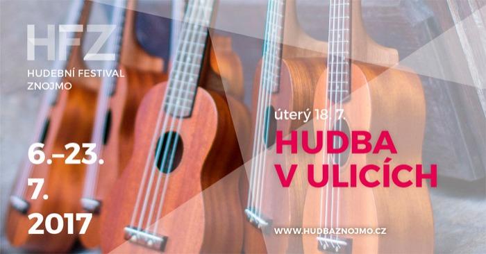 19.07.2017 - HUDEBNÍ FESTIVAL ZNOJMO - Hudba v ulicích