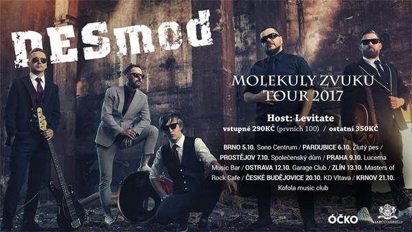 13.10.2017 - DESMOD - Molekuly zvuku tour 2017 / Zlín