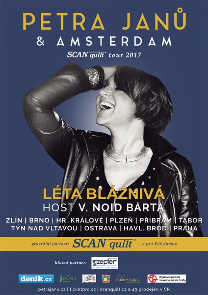 18.10.2017 - PETRA JANŮ s kapelou Amsterdam - Brno