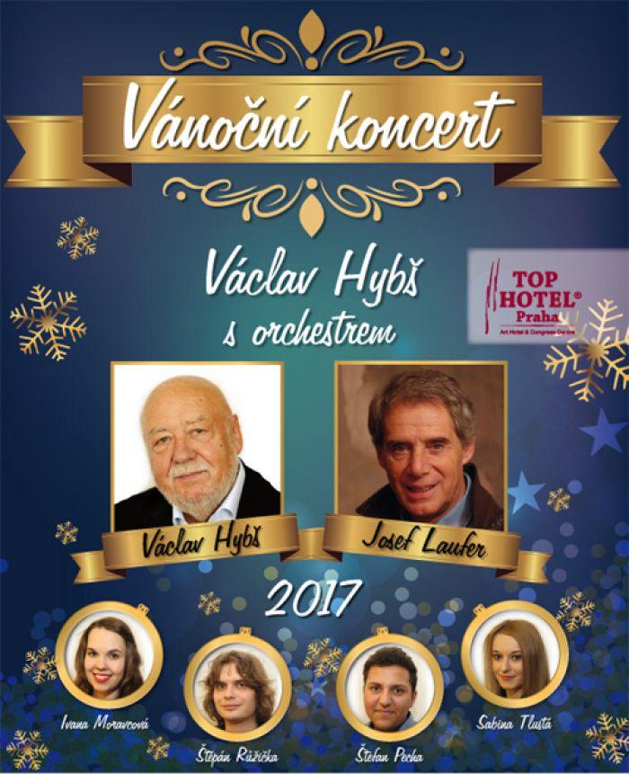 Vánočních koncert orchestru Václava Hybše 2017 / Přelouč