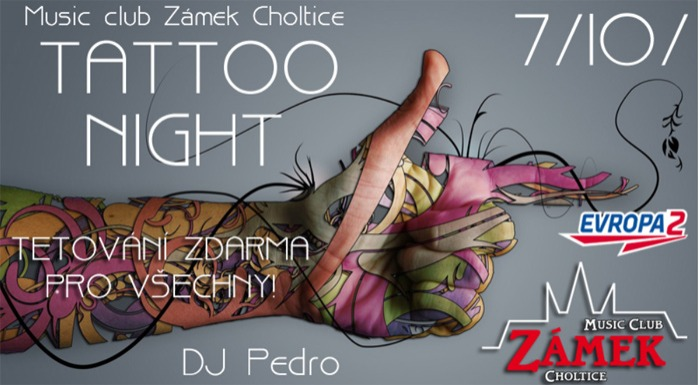 Tattoo night - Music club Zámek Choltice