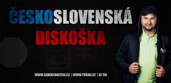 Československá diskoška - Music club Zámek Choltice