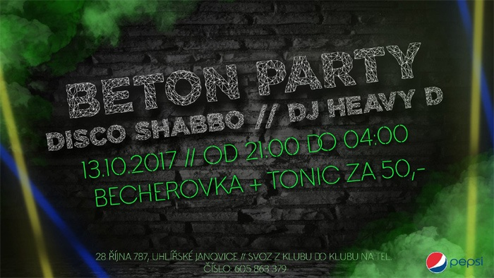 13.10.2017 - Beton Party - Uhlířské Janovice