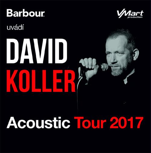 14.11.2017 - David Koller: Acoustic Tour 2017 - Zlín