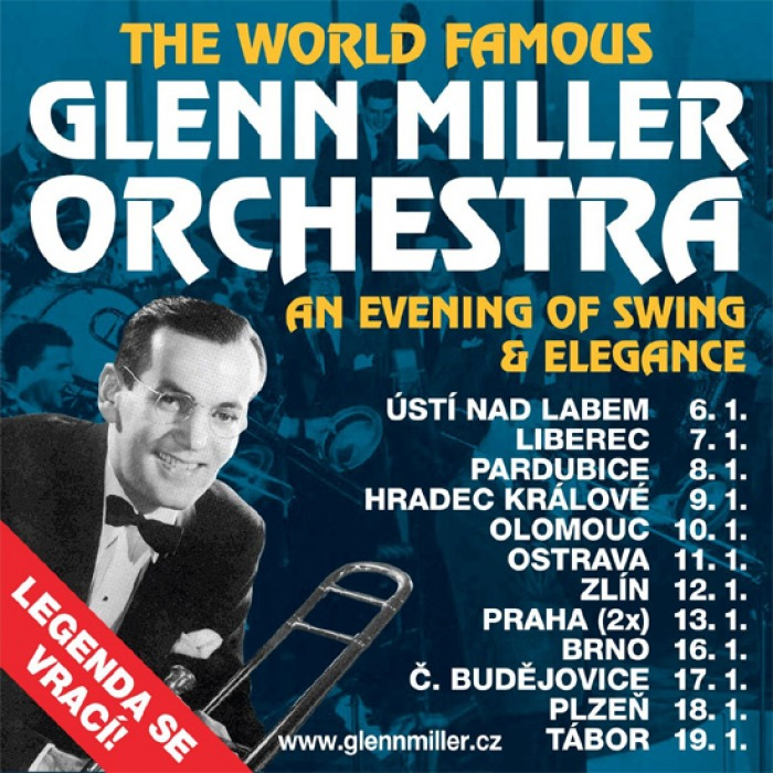 16.01.2018 - The World Famous Glenn Miller Orchestra - Brno