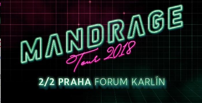 Mandrage - Tour 2018 / Praha 8