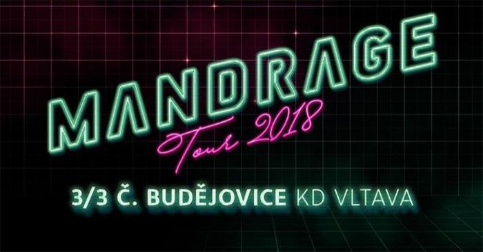 Mandrage tour 2018 - České Budějovice