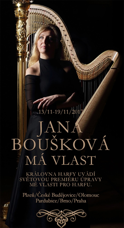 14.11.2017 - Jana Boušková: Má vlast - sólové turné / České Budějovice