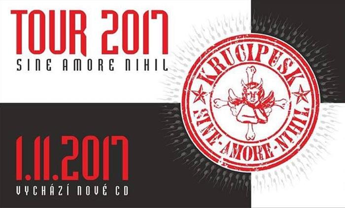 16.12.2017 - Krucipüsk: SINE AMORE Nihil Tour 2017 - Jablonec nad Nisou