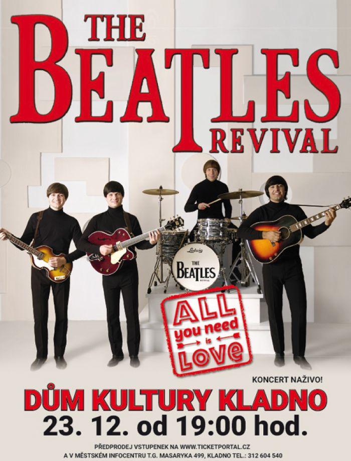 23.12.2017 - The Beatles revival - Koncert / Kladno