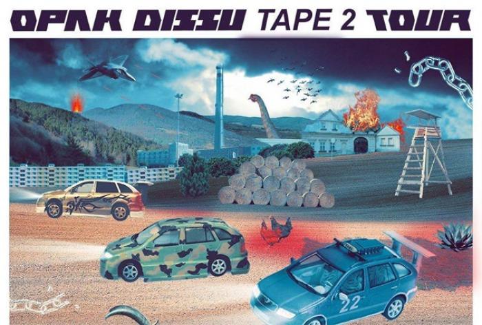 12.01.2018 - OPAK DISSU TAPE 2 TOUR / Kladno