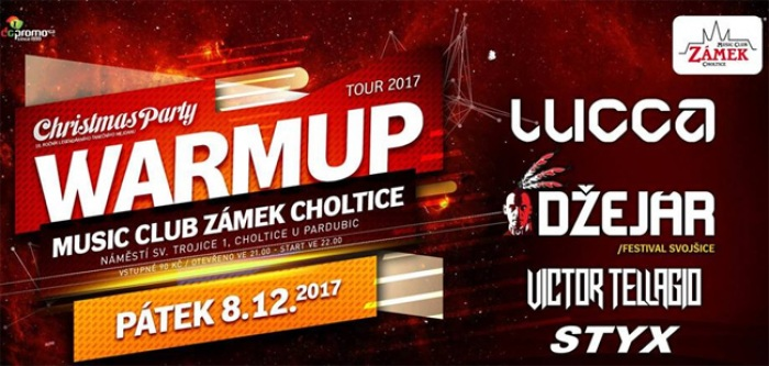 08.12.2017 - Christmas párty Warm-up Tour -  Choltice