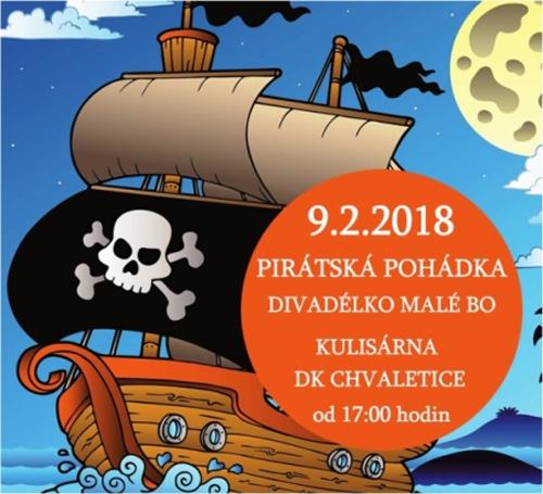 09.02.2018 - Pirátská pohádka  / Chvaletice