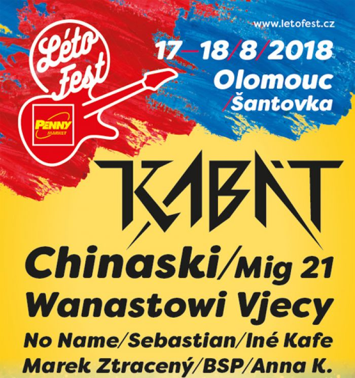 17.08.2018 - LÉTOFEST 2018 - Olomouc