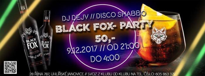 09.12.2017 - Black Fox párty - Uhlířské Janovice