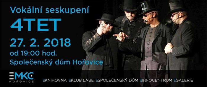 27.02.2018 - 4TET - Koncert / Hořovice
