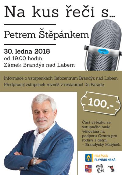 Na kus řeči s Petrem Štěpánkem - Brandýs nad Labem