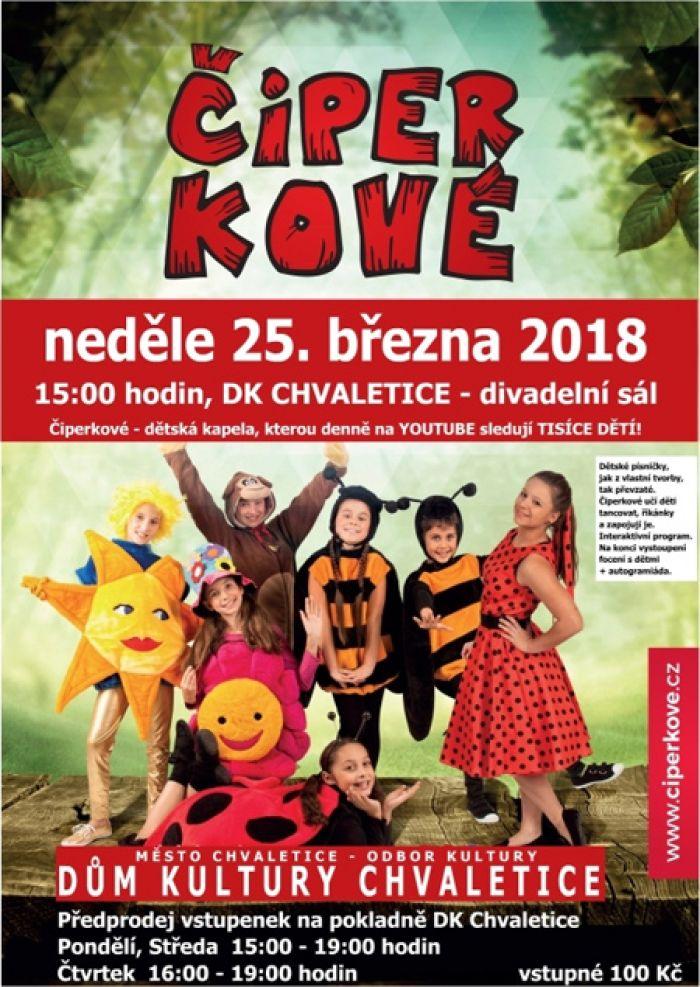 25.03.2018 - Čiperkové - dětská kapela / Chvaletice