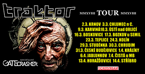 TRAKTOR - MMXVIII TOUR 2018 - Ústí nad Orlicí