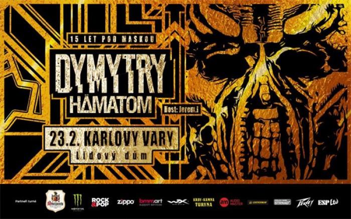 Dymytry: Tour 2018 - 15 let pod maskou / Karlovy Vary