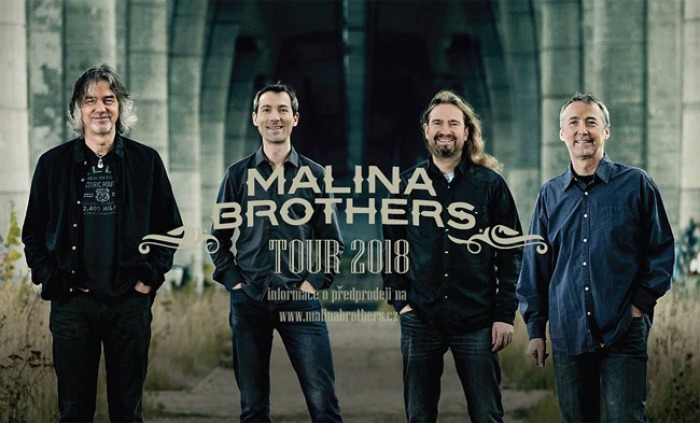 MALINA BROTHERS - Tour 2018  / Písek