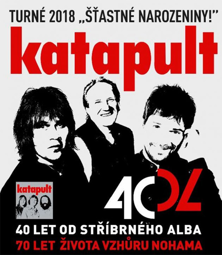 24.05.2018 - KATAPULT: ŠŤASTNÉ NAROZENINY - Turné 2018 / Cheb