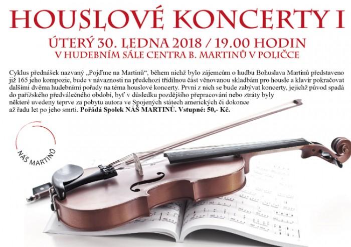 NÁŠ MARTINŮ: Houslové koncerty I. - Polička