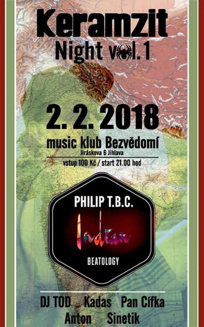 Keramzit Night with Philip T.B.C - Jihlava
