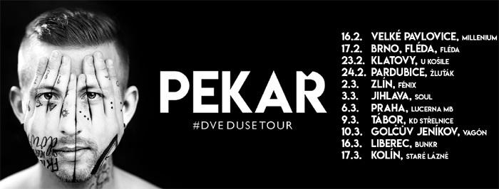 16.02.2018 - PEKAŘ - Dvě duše tour 2018 / Velké Pavlovice