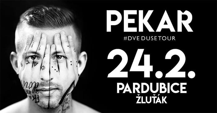 PEKAŘ - Dvě duše tour 2018 / Pardubice