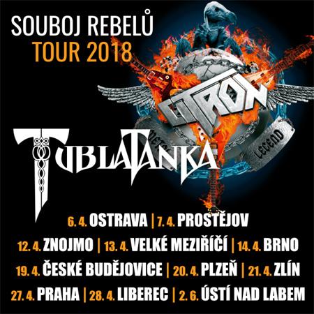 28.04.2018 - Citron & Tublatanka: Souboj rebelů tour 2018 - Liberec