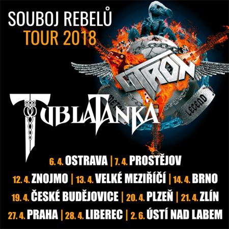 02.06.2018 - Citron & Tublatanka: Souboj rebelů tour 2018 - Ústí nad Labem