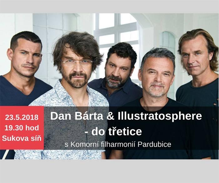 23.05.2018 - Dan Bárta & Illustratosphere - do třetice / Pardubice
