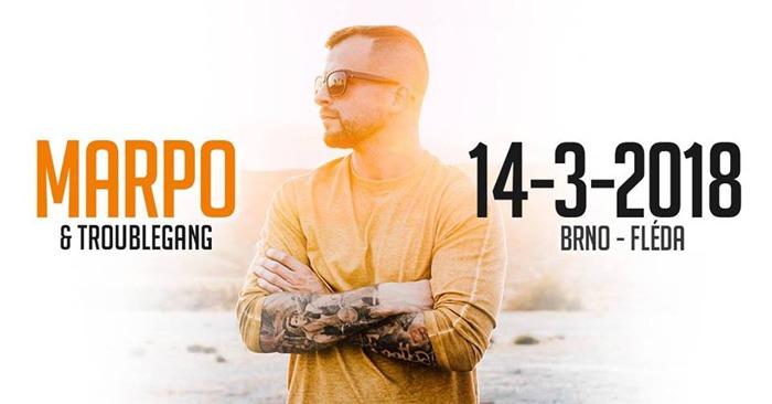 14.03.2018 - MARPO & TroubleGang tour 2018 - Brno