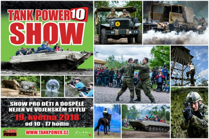 19.05.2018 - TANK POWER SHOW X. - Přelouč