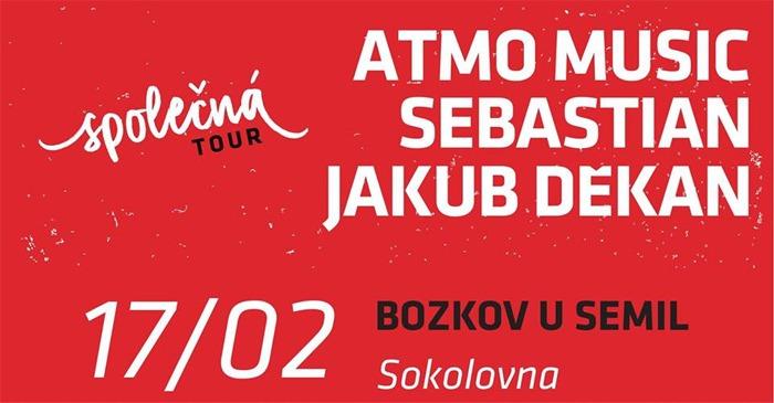 17.02.2018 - Atmo Music / Sebastian / Jakub Děkan - Bozkov