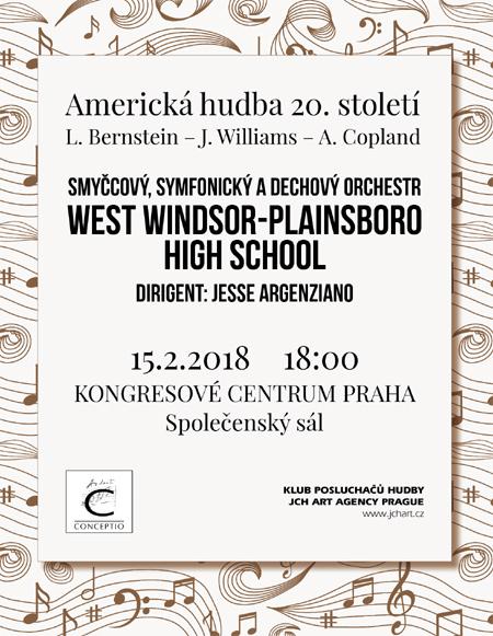 15.02.2018 - Hudba Ameriky 20. století - Orchestrální koncert / Praha