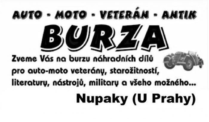 BURZA  - Nupaky u Prahy