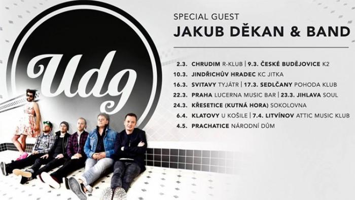 UDG + Jakub Děkan & Band - Prachatice